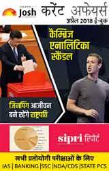 Current Affairs April 2018 eBook Hindi